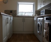 Dishwasher, washer/dryer,fridge/freezer